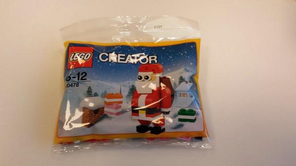 Polybag LEGO Creator - Lustiger Weihnachtsmann