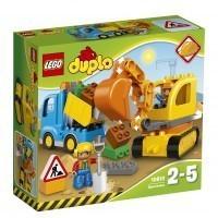 LEGO® Bagger & Lastwagen 10812