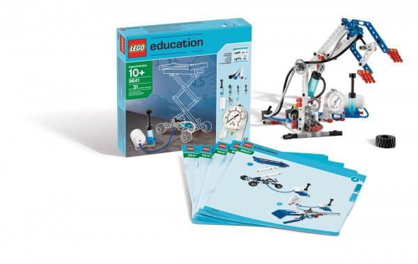 LEGO® Pneumatik Ergänzungsset inkl. Unterrichtsmaterial