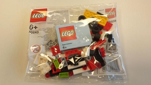 Polybag LEGO - Rennwagen