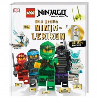Dorling Kindersley LEGO® NINJAGO® Das große Ninja-Lexikon (Mit exklusiver Minifigur)