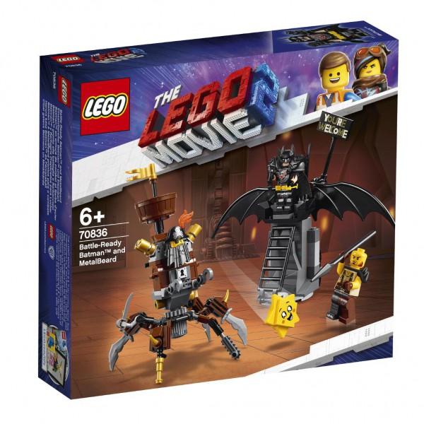 Einsatzbereiter Batman™ und EisenBart