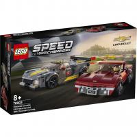 LEGO® Chevrolet Corvette C8.R & 1968 Chevrolet Corvette 76903