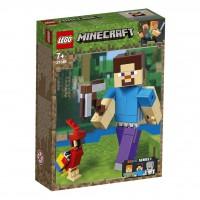 LEGO® Minecraft™-BigFig Steve mit Papagei 21148