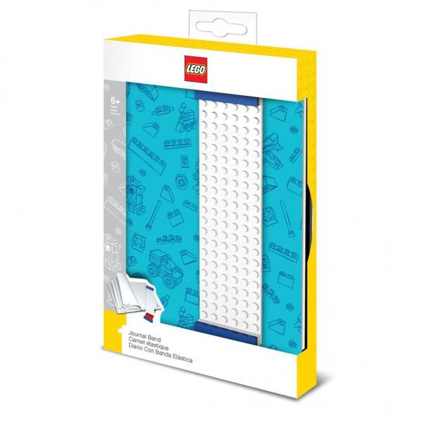 LEGO® Notizbuch m.Lesezeichen (blau)