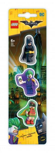 LEGO® Batman Movie Radierer 3er Pack