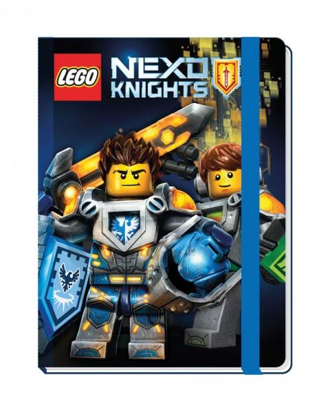 LEGO® NEXO Knights Notizbuch mit Band
