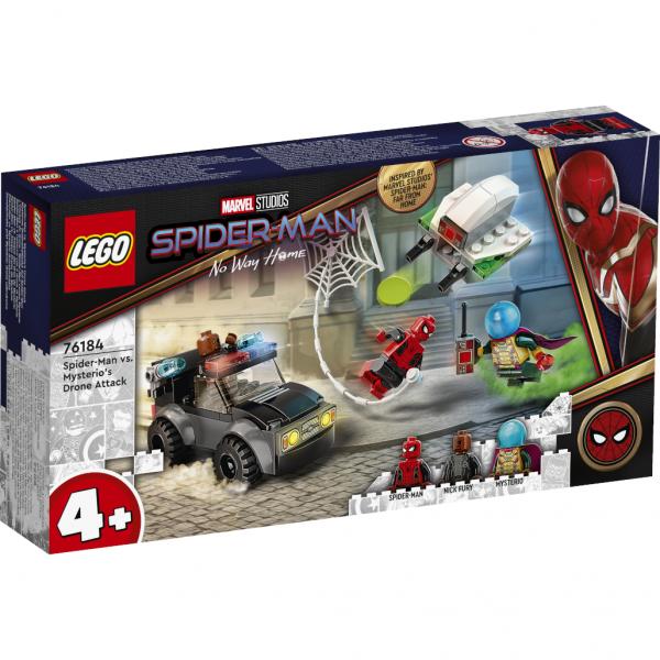 Super Heroes Mysterios Drohnenattacke auf Spider-Man