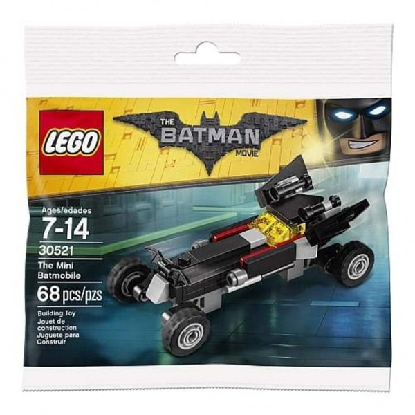 Polybag LEGO THE BATMAN MOVIE - 30521 - Das Mini-Batmobil