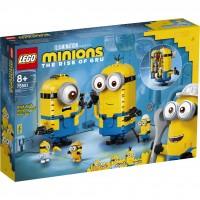 LEGO® Minions-Figuren Bauset mit Versteck 75551