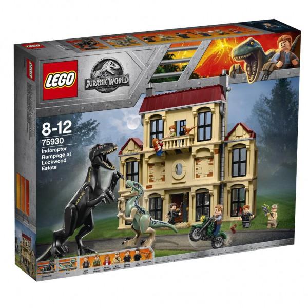 Indoraptor-Verwüstung des Lockwood Anwesens