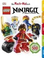 LEGO® NINJAGO® Das Mach-Malbuch