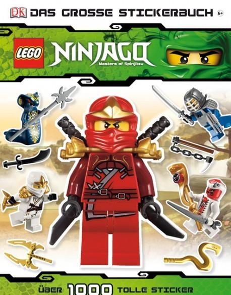 LEGO® NINJAGO® Das große Stickerbuch