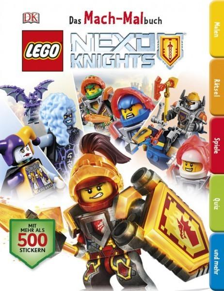 LEGO® NEXO KNIGHTS™ Das Mach-Malbuch