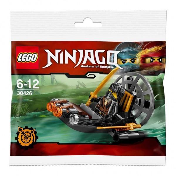 Polybag LEGO NINJAGO - 30426 - Sumpfboot auf geheimer Mission