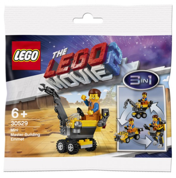 Polybag LEGO - THE LEGO® MOVIE 2™ - Mini-Baumeister-Emmet