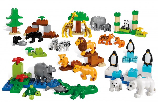 LEGO® DUPLO® Wildtiere Set - 45012