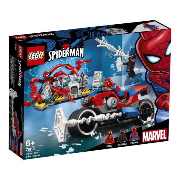 Spider-Man Motorradrettung