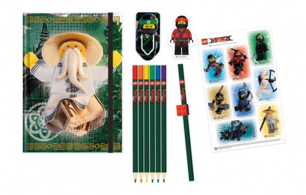 LEGO® Ninjago Movie Schreibwaren-Set (6-teilig)