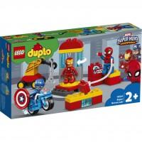 LEGO® Iron Mans Labor-Treffpunkt 10921