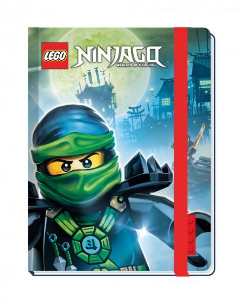 LEGO® Ninjago Notizbuch mit Gummiband