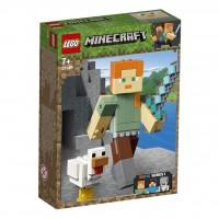 Minecraft™-BigFig Alex mit Huhn