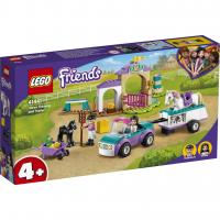 LEGO® Trainingskoppel und Pferdeanhänger 41441