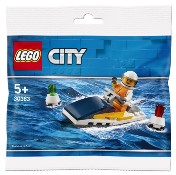 Polybag LEGO City - Rennboot