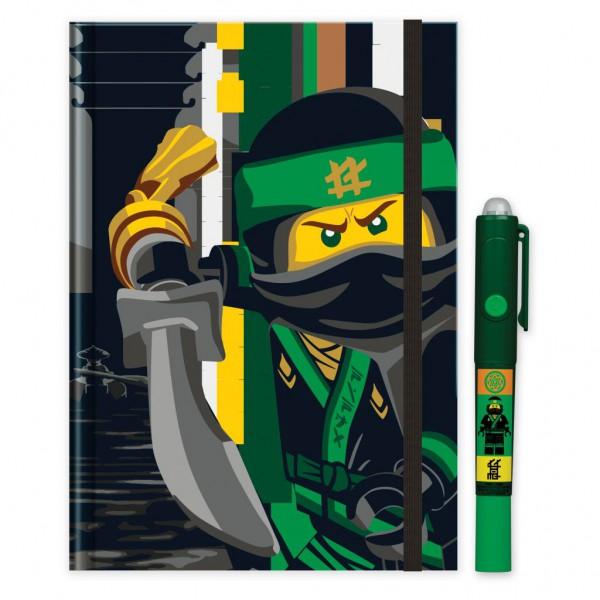 LEGO® Ninjago Movie Notizbuch mit Geheimstift