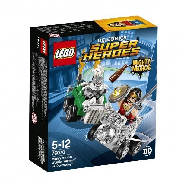Mighty Micros: Wonder Woman™ vs. Doomsday