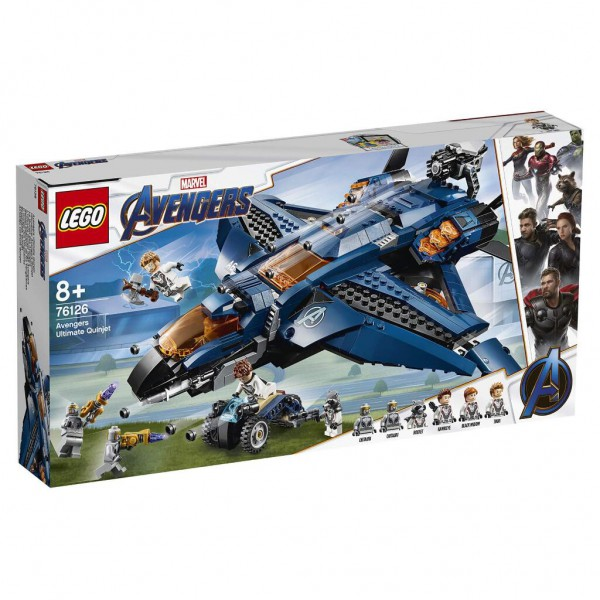 LEGO Marvel Super Heroes - 76126 - Ultimativer Avengers-Quinjet
