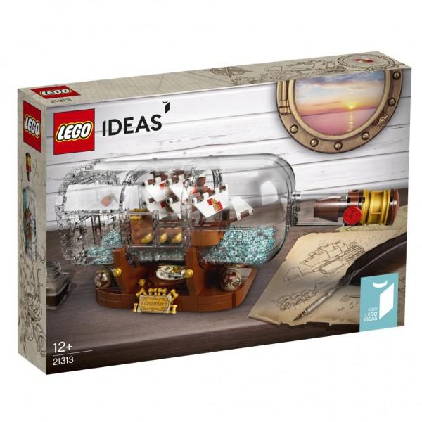 LEGO Ideas - 21313 - Schiff in der Flasche