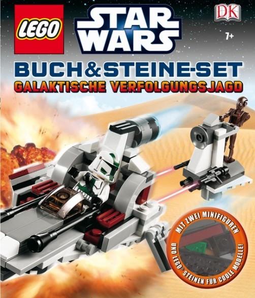 LEGO® Star Wars™ Buch & Steine-Set Galaktische Verfolgungsjagd