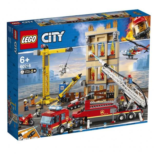 Feuerwehr in der Stadt