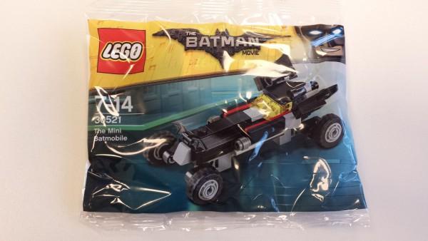 Polybag LEGO THE BATMAN MOVIE - Das Mini-Batmobil