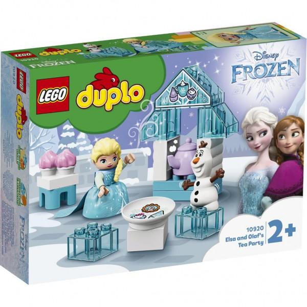 Teeparty mit Elsa und Olaf
