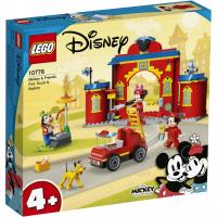 LEGO® Mickys Feuerwehrstation und Feuerwehrauto 10776