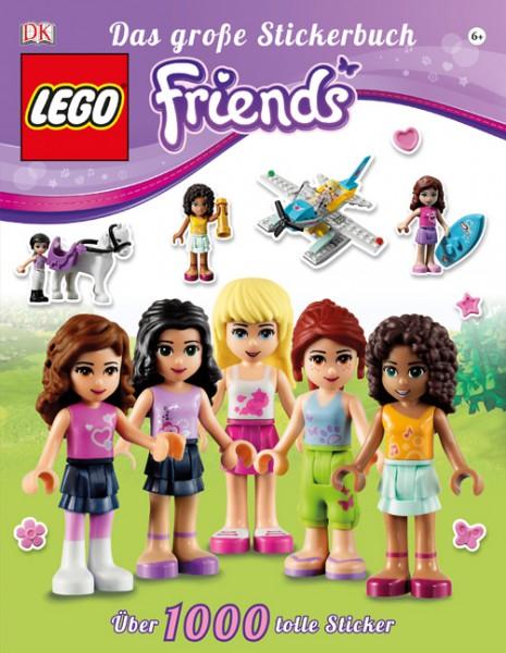 LEGO® Friends Das große Stickerbuch