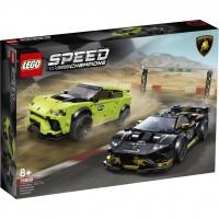 LEGO® Lamborghini Urus ST-X & Lamborghini Huracán Super Trofeo EVO 76899