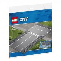 LEGO® Gerade und T-Kreuzung 60236