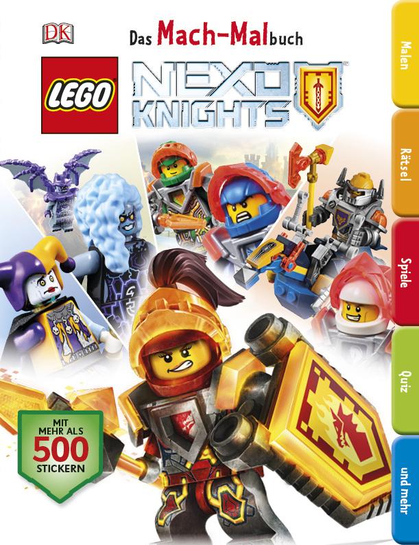 Bücher - LEGO NEXO KNIGHTS Das Mach-Malbuch - | SteineHelden.de
