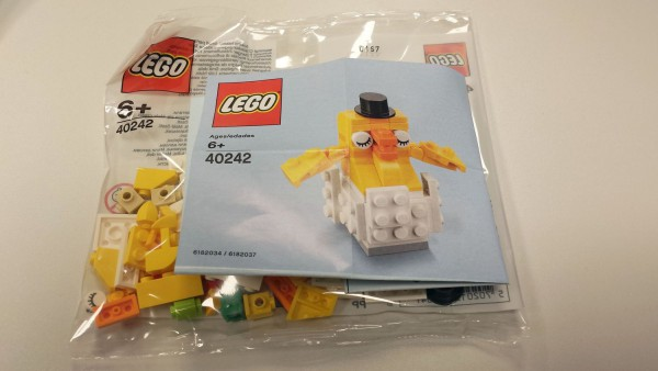 Polybag LEGO - Küken