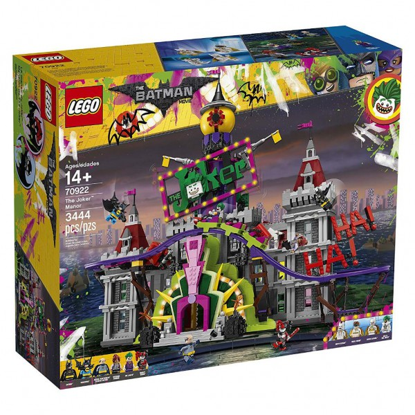 LEGO DC Super Heroes Batman - 70922 - The Joker Manor
