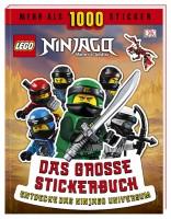 Dorling Kindersley LEGO® NINJAGO® Das große Stickerbuch-Entdecke das Ninjago Universum