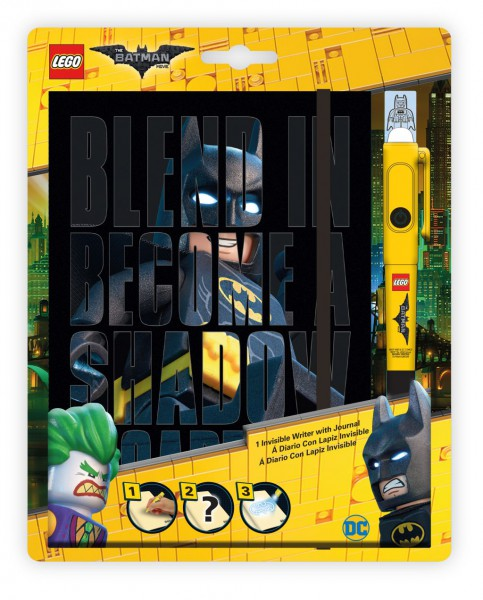 LEGO® Batman Movie Notizbuch mit Geheimstift