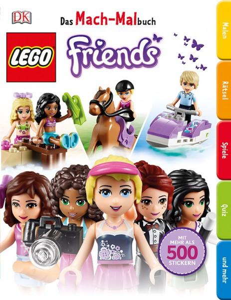 LEGO® Friends Das Mach-Malbuch