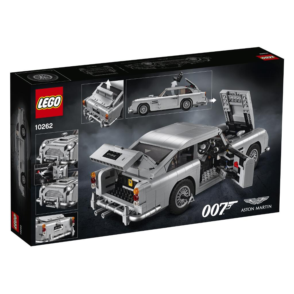 Lego Creator Expert 10262 James Bond Aston Martin Db5 Steinehelden De