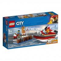 LEGO® Feuerwehr am Hafen 60213