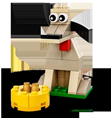 LEGO Classic Hund
