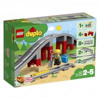 LEGO® Eisenbahnbrücke und Schienen 10872